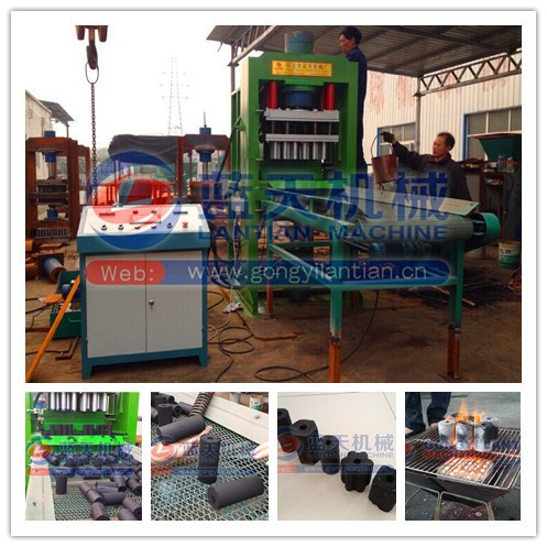 Shisha charcoal tablet press making machine hydraulic coal briquette machine