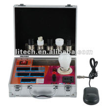 Factory price led cfl lamp bulb globe tester lux meter with aluminum case