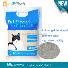 Wholesale Pet Products Natural Safe Non-toxic Bentonite Cat litter