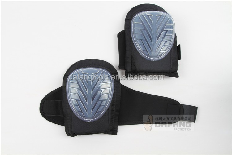 Two straps gel knee pads