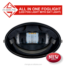 Led Car Fog Lamp Super Bright 1800LM 18W DRL Eagle Eye Light Reverse Backup Parking Waterproof for honda crv accessories