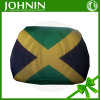 Custom Printed Hot Selling national Car Seat Head flag Cover