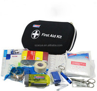 high quality EVA Hard shell portable Family travel First Aid Kit case/ Medical case/bag
