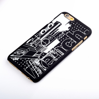 New design protector screen case for iphone 5 5s 6 6s back cover