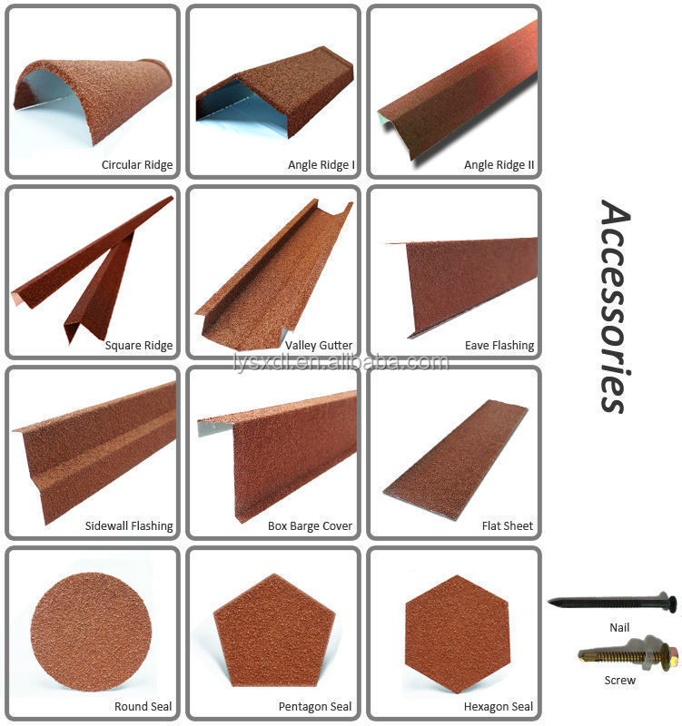 Eco friendly stone roof tiles types of roofing covering for Type of roof tiles