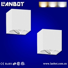 2016 Square led light cob surface mounted downlight
