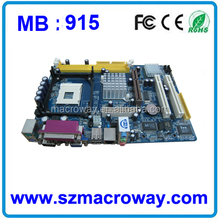 915 motherboard with ddr1 and ddr2
