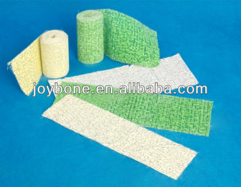 Fast Setting Super Strong Plaster of Paris Bandage/P.O.P Bandage/ Gypsum bandage/ plaster piece