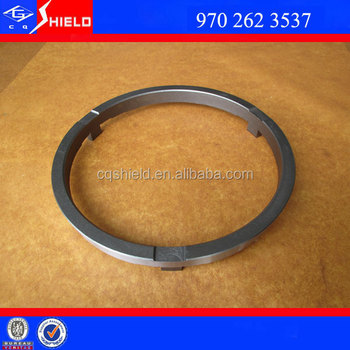 Manual transmission gearbox parts sinotruk synchronizer ring 9702623537