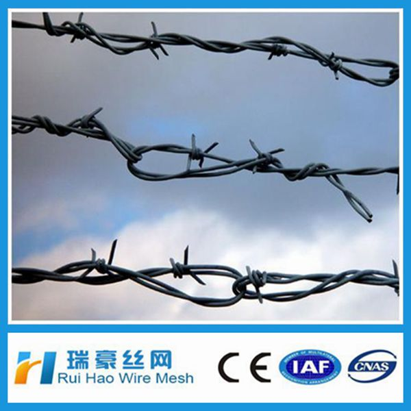 barbed wire length per roll