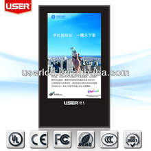46,55,65 inch LCD digital signage(iphone design ,3G/WIFI Module,1920*1080)