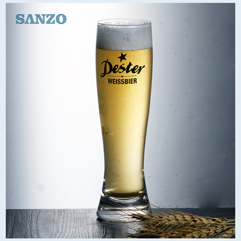 Sanzo personized custom wholesale all types beer glasses