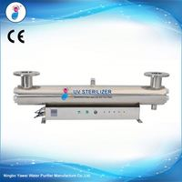 waste water treatment uv sterilizer /uv disinfection machine for wastewater treatment
