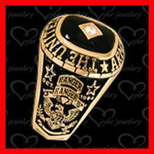 make your own design gold plated military ring