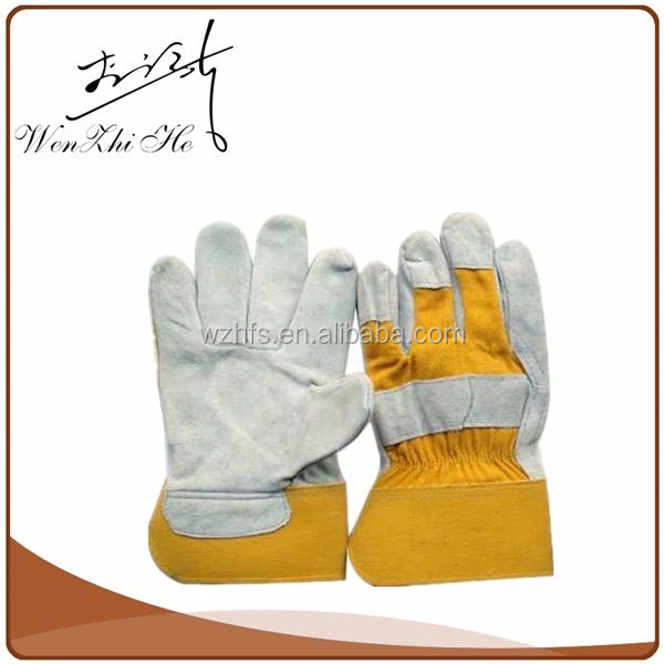 Free Sample Supplier Leather Welding Glove With Pigskin