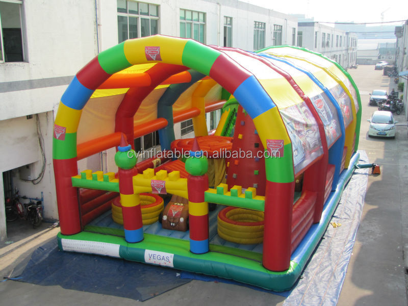 Giant inflatable bouncer, inflatable jumping castle playland, inflatable playground for kids