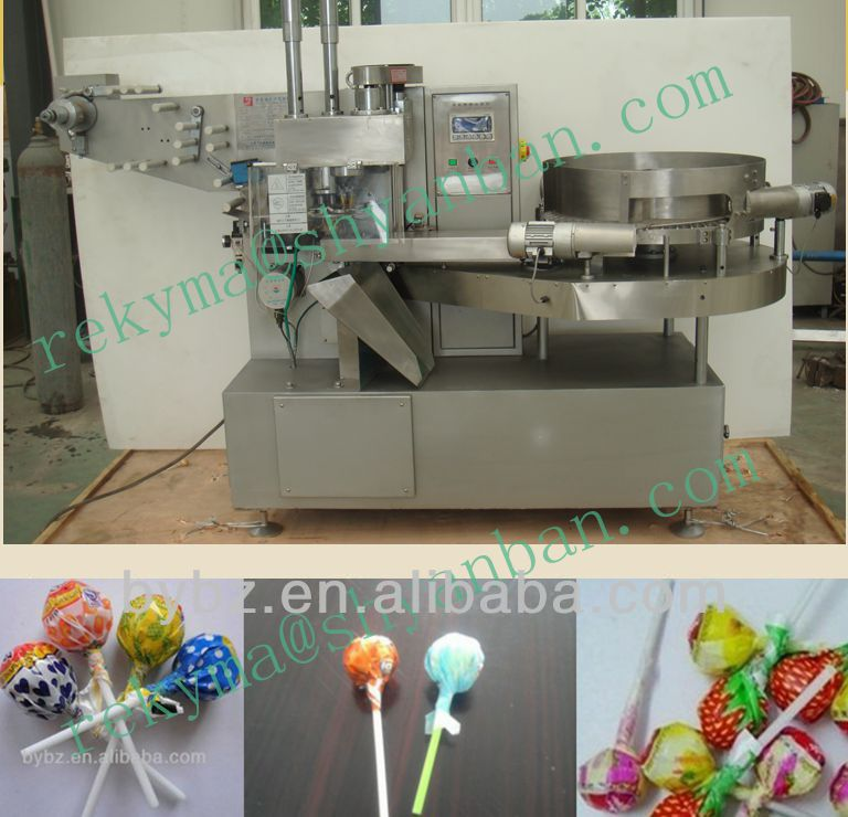 YB-350 Automatic High Speed Lollipop Wrapping Machine