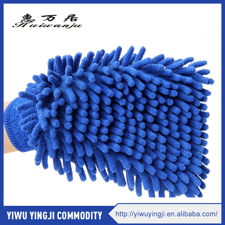 Magic Microfiber Car Wash Mitt Cleaning Mitt Chenille <strong>Glove</strong>