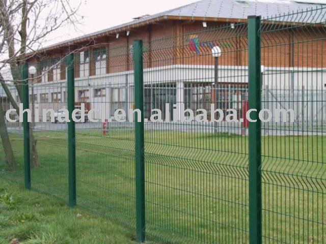 pvc coated protection fence