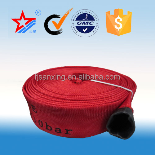 2.5 inch fire hoses,PVC lined canvas fire hose