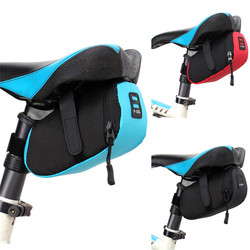 YOUME Bicycle Bike Waterproof Storage Saddle Bag Seat Cycling Fame Tail Rear Pouch Bag For Phone Bottle Map Stuff US#V
