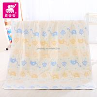 bulk buy from china High Quality Colorful organic Swaddle Blanket baby By Trade Assurance