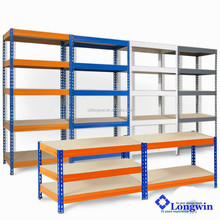 Heavy Duty Metal Storage 5 Shelves Shelf Rack Garage Steel Z BEAM Shelving NEW