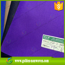 Reliable pp/pet nonwoven Business Partner Gold Company Name of 100% PP non woven fabric