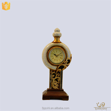 AAA Quality Wholesale Resin Art Decor The Desktop Retro Antique Vintage Quartz Clock Insert