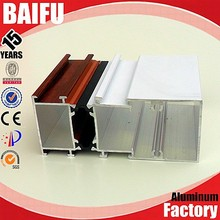 Baifu building material 6063 t5 names of aluminum profile aluminium profile