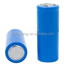 factory price 3.2V 3000mAh 26650 LiFePO4 battery for electric scooters, electric vehicles