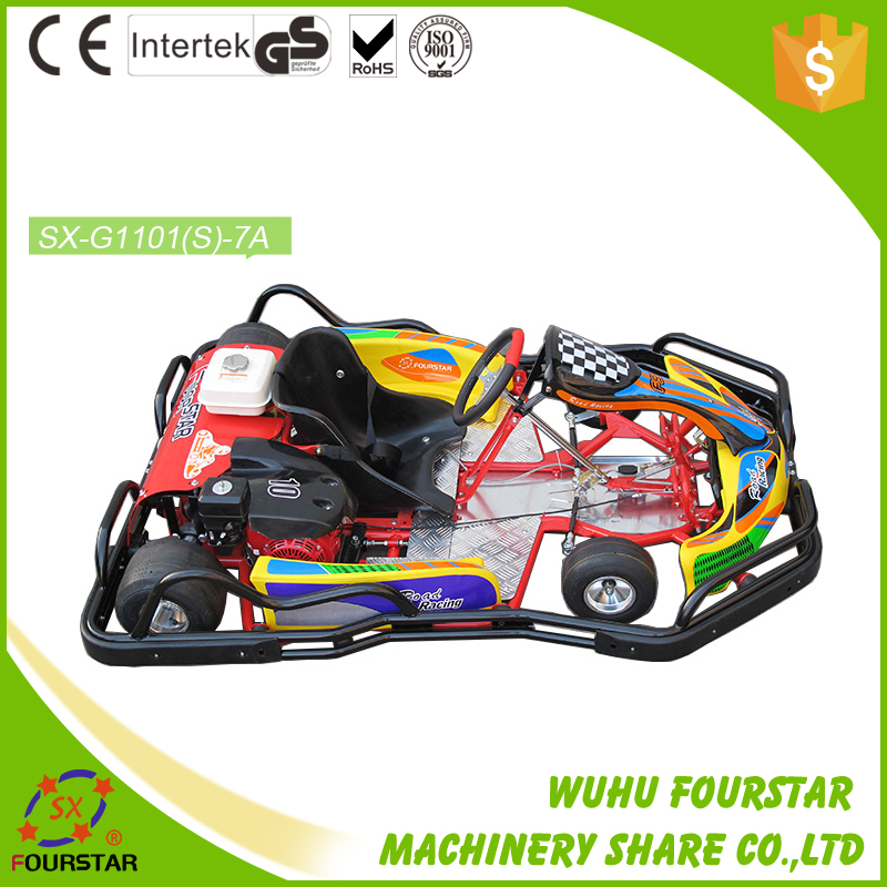 safety and funny single seat electric go karts for sale 200cc/270cc