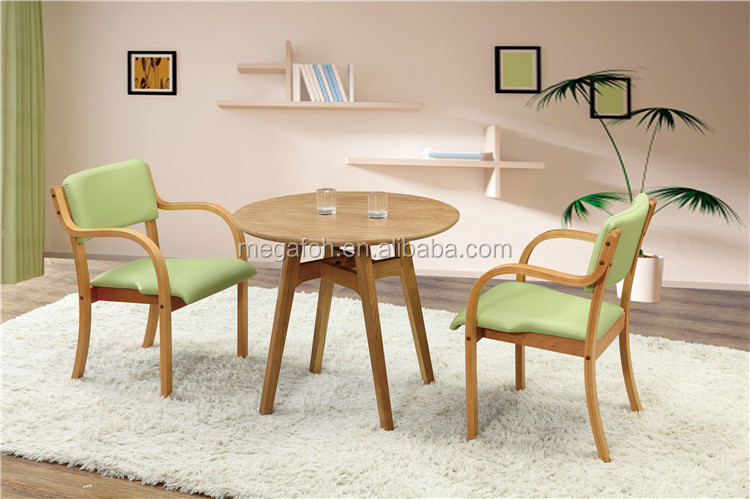 Star hotel wooden restaurant furniture dining tables and chairs set(FOH-BCA46)