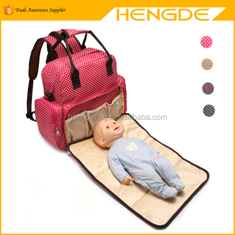 2017 Shoulder Tote Mummy Baby Bed Changing Carry Diaper Bags