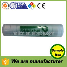100% rayon non woven compressed coin towels in plastic tube packing