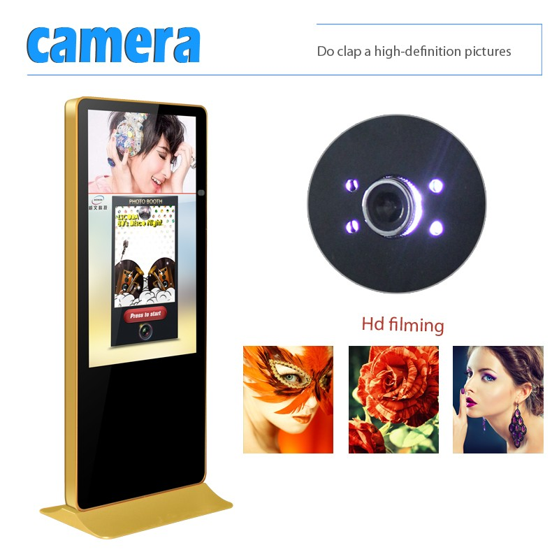 2017New!!43inch New design LED portable photo booth/photo booth machine for events vending business wedding
