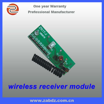 wireless ask learning code decoder receiver module