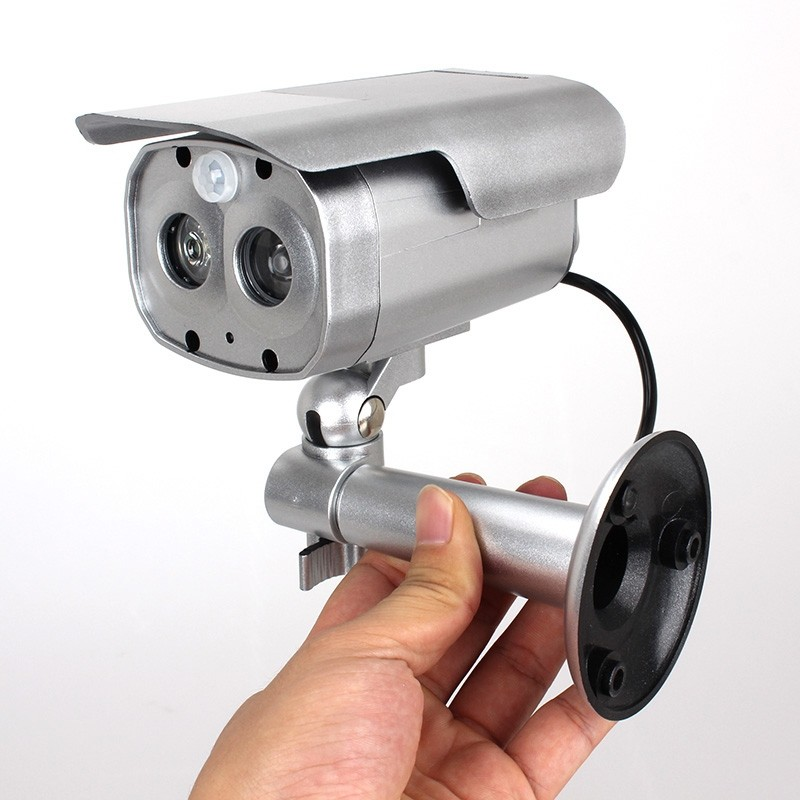 New item Motion Detection Dummy Solar Powered Flashing LED Fake Camera