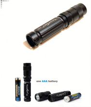 Waterproof mini led flashlight TANK007 E09,I1517 cree q5 led waterproof diving torch