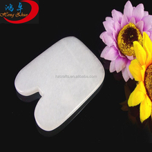 Gua Sha Massage Tool Scraping Massage Tool White Jade Guasha Board