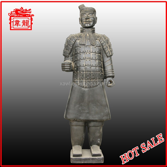 Hot Chinese warriors and horse sculpture YHT87-3