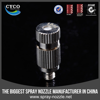 CYCO FD Series Metal Anti-drop Misting Nozzle, Humidifying and Moisturing Mist Nozzle, Water Mist Fogging Fine Spray Nozzle