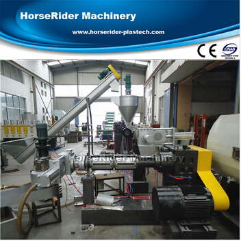 High output PP PE film granulation line / Plastic film recycling machine / plastic extruding extruder machine for recycling