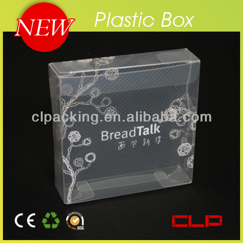 Transparent box/clear PP plastic box for packaging