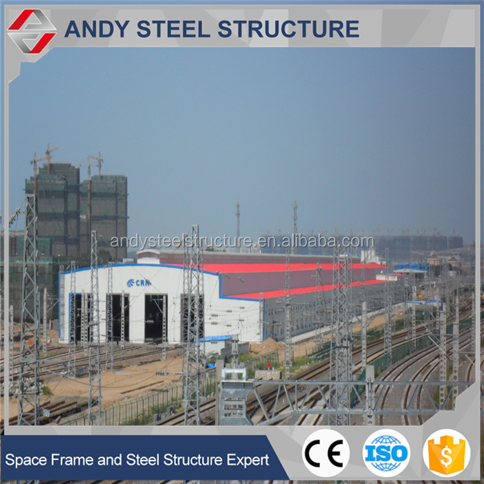 factory prefab warehouse steel structure building