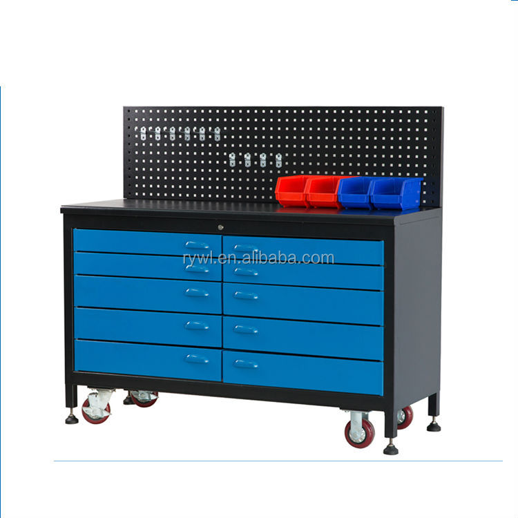 drawer workbench/garage workbench on wheels/tool cabinets one wheels