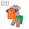 12 Years Children Clothes Experience Boys Summer Sports Set Polo Jeans Clothing Set