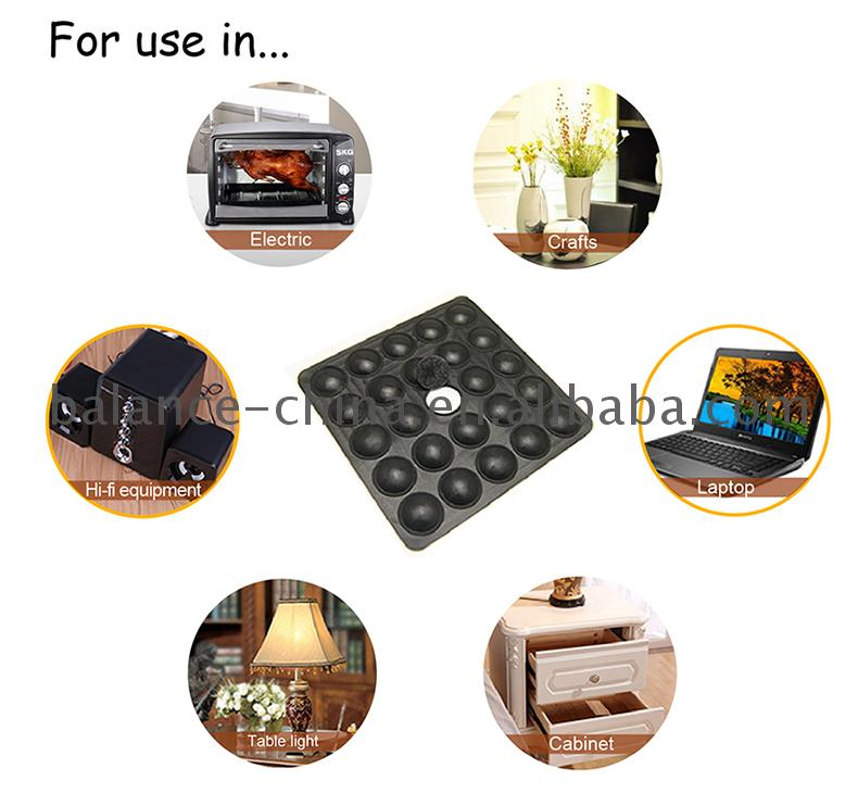 adhesive rubber feet protection pad for chair