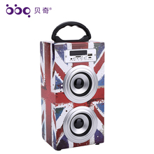 Hot Sell Professional Active Stage Gold Sound Audio Speakers 4inch 10W 600mAh piezo speaker