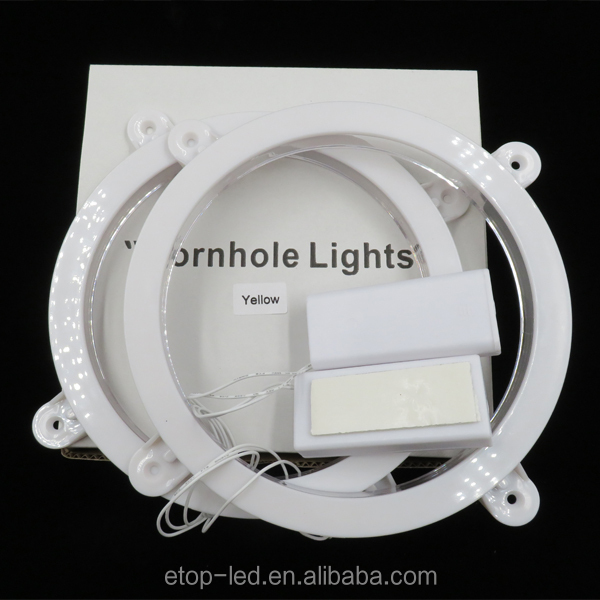 led cornhole light ring 3V battery control